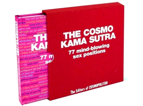 Take lovemaking to a new level with the fully illustrated Cosmo Kama Sutra, featuring 77 positions. A fun and fabulous read. $14.36 at barnesandnoble.com